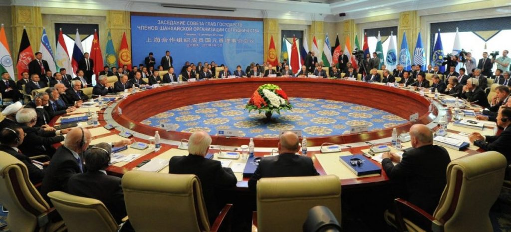 The 13th meeting of the Shanghai Cooperation Organization