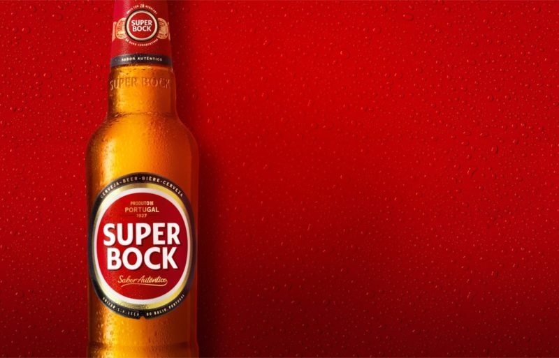 Super Bock exports to China. Profits went up by 34%