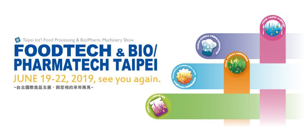 Foodtech & Bio/Pharmatech Taipei 2019 – CCILC