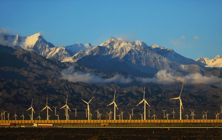 China is making great and fast strides away from fossil fuels