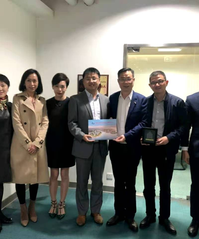 Xu Liaoyuan, Director of the Government Affairs Data Administration of Nansha District, Guangzhou and his delegation Visit the Macau Delegation of The Portugal-China Chamber of Commerce and Industry