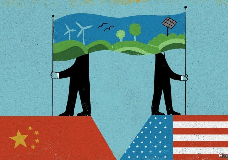 China and America talk of co-operating on climate. It will be hard