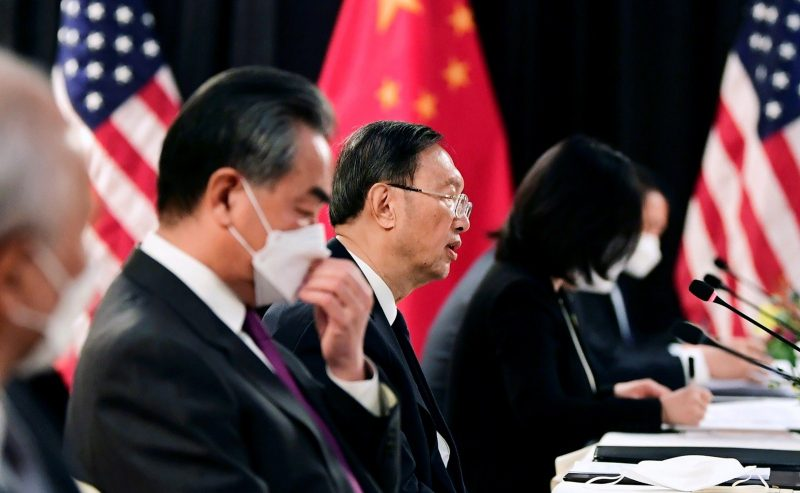 China says US cannot speak from 'a position of strength'